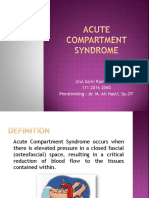 Jurnal Acute Compartment Syndrome