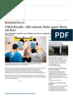 (CH) UMA-Kredit