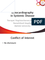 Echocardiography for Systemic Disease