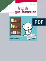 WWW.frenCHPDF.com Jeux de Langue Française Ed