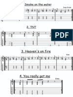 Riffs for Electric Guitar (1)