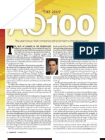 The 2007 AlwaysOn Top 100 Private Companies