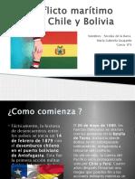 Conflicto Marítimo Entre Chile y Bolivia