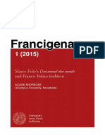 Andreose - Marco Polo's Devisement dou monde and Franco-Italian tradition.pdf