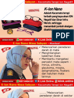 K-Ion Nano Nissa Sabyan Di Setia Budi WA 08114494181