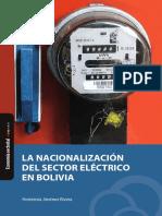 La Nacionalizacion Del Sector Electrico en Bolivia