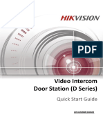 Video Intercom D Series Door Station Quick Start Guide_V1.3.0_20160116