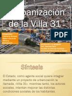 Presentación Villa 31