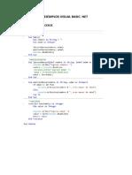 Ejemplos VB.net