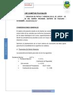 3.b Diseño de Cunetas Lircay Paucará