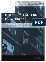 2018 09 Realtors Confidence Index 10-19-2018