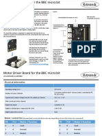 5602 Bbc Microbit Motor Driver v1.1