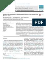 Produção de Biossurfactantes Por Cepas de Bacillus Haloalquilofílicas Isoladas Do Mar Vermelho, Egito