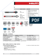 Technical Data Sheet for HST Stud Anchor Technical Information ASSET DOC 2331133