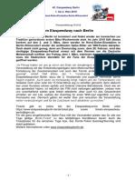 Eisspeedway Berlin 2019, Pressemitteilung 181019