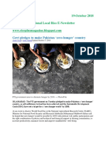 19th October,2018 Daily Global Regional Local Rice E-newsletter