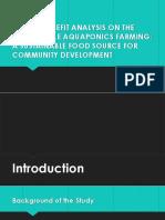 Aquaponics Thesis Presentation