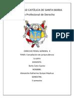 Jurisprudencia D. PENAL Alexandra