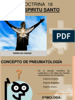 EL ESPÍRITU SANTO DOCTRINA