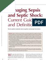 Managing sepsis 2018