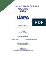 Universidad Abierta Para Adultos, Unidad II