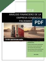 Analisis Financiero de La Empresa Cementos Pacasmayo s.a.