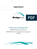 Appendices Performance Management