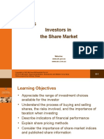 Ppt_ch06-Investors in the Share Market
