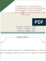 Diagnostico de La Neuropatia Diabetica a en Expo