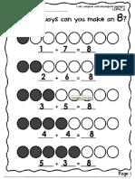 ways to make 8 example
