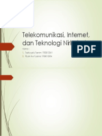 Telekomunikasi, Internet, dan Teknologi Nirkabel.pptx