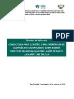 TdR Campaña de Comunicacion AECID