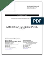 American Muslim Polling