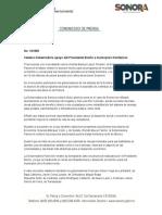 09-10-2018 Celebra Gobernadora Apoyo Del Presidente Electo a Municipios Fronterizos