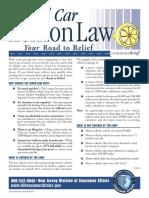 NJ Lemon Law