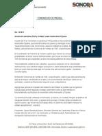 03-10-2018 Anuncian aerolínea TAR y Cofetur vuelo Hermosillo-Tijuana