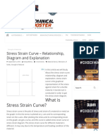 Stress Strain Curve – Relationship, Diagram and Explanation - Mechanical Booster