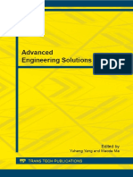 (Applied Mechanics and Materials) Yuhang Yang, Maode Ma-Advanced Engineering Solutions-Trans Tech Pubn (2014)