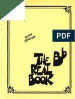 Bb Real Book Sixth Edition