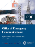 Cybersecurity Risks for NG9-1-1 (100418)_508C_FINAL