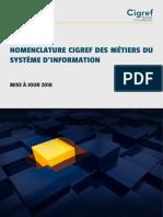 Cigref Nomenclature RH Metiers Competences 2018 v2