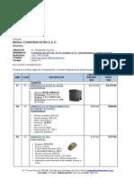 COT.1541.D.mega CONSTRUCCION SAC.suministro de UPS 10KVA Modelo GXT4%2c Transformador%2c Tablero Bypass