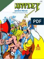 Gauntlet 1985 Atari