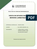 Informe_ Visita de Campo ( Museo Brüning)
