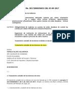 2018-07-25 - (2017) - CGN - Doctrina Contable - CONCEPTO No Intereses de Mora