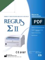 REGIUS Sigma II Operation Manual (Spanish).pdf