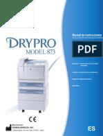 DRYPRO 873 Operation Manual (Spanish).pdf
