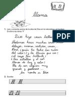 Letra LL