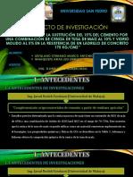 Exposicion de Titulacion Al 50%. Sevillano - Ninaquisp