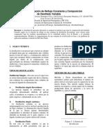 Destilación a Relación de Reflujo Constante y Composición de Destilado Variable